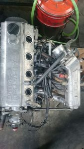 Tampak Atas Mesin Daihatsu Feroza EFI