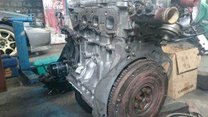 Tampak Belakang Mesin Daihatsu Feroza EFI