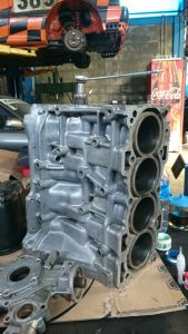 Tampak Samping Blok Mesin Daihatsu Feroza EFI